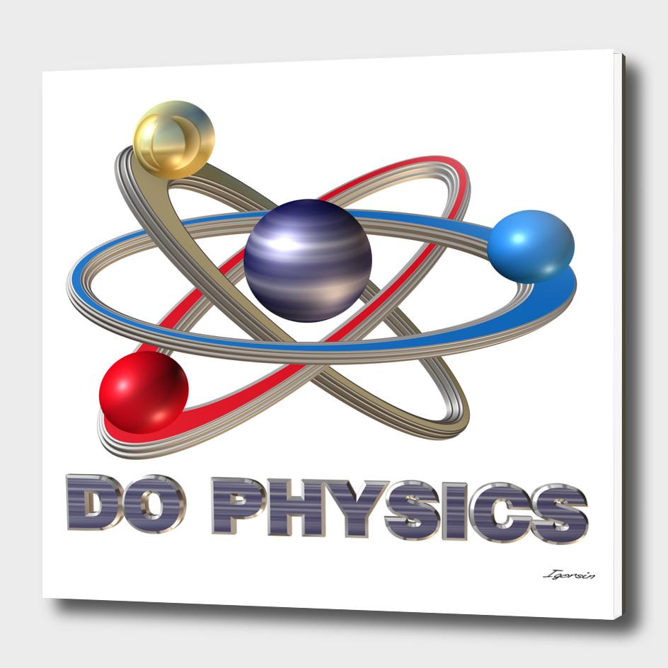 3D atom symbol