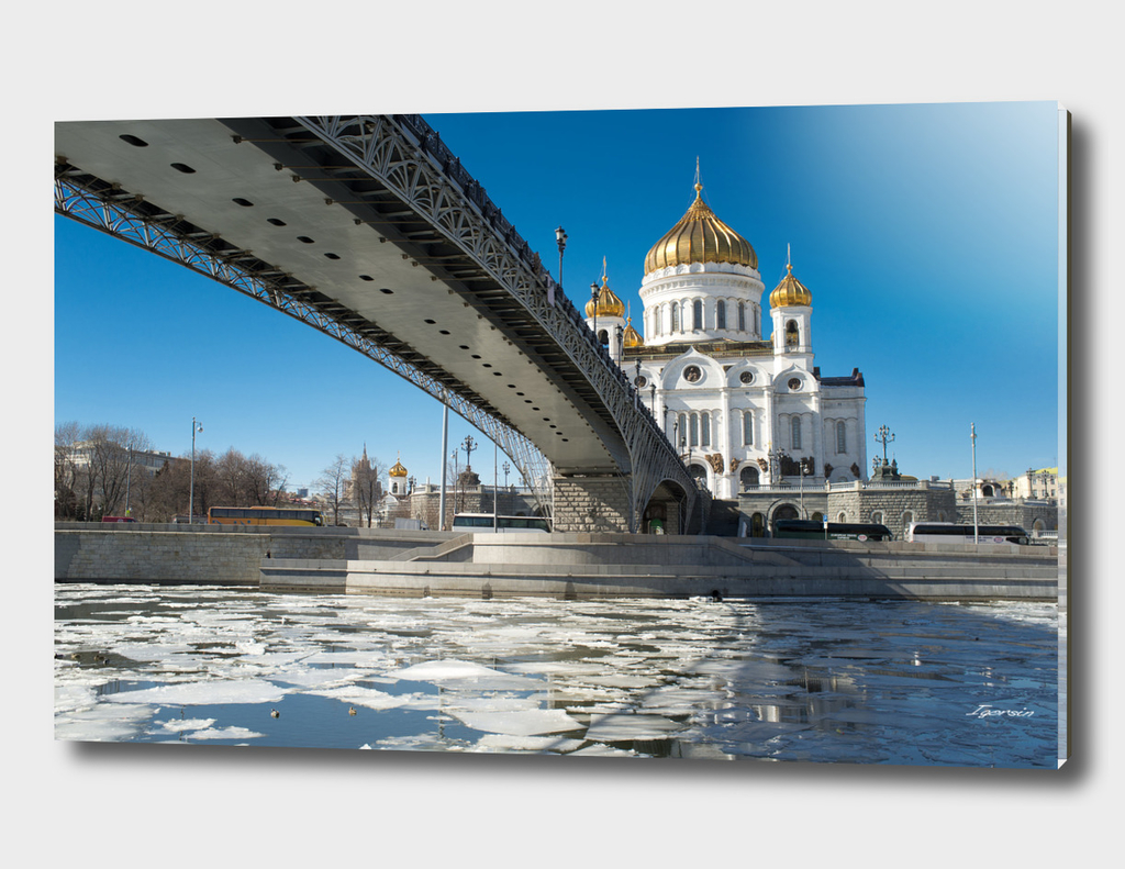 Cathedral Christ the Saviour in Moscow