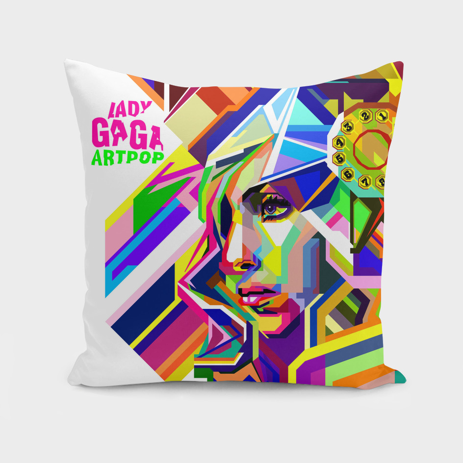 Gaga in Pop art
