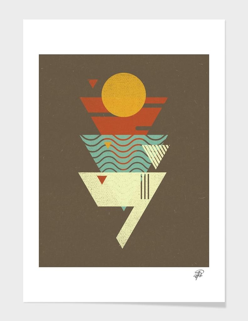 Sun. Sea. Sand. Shark.