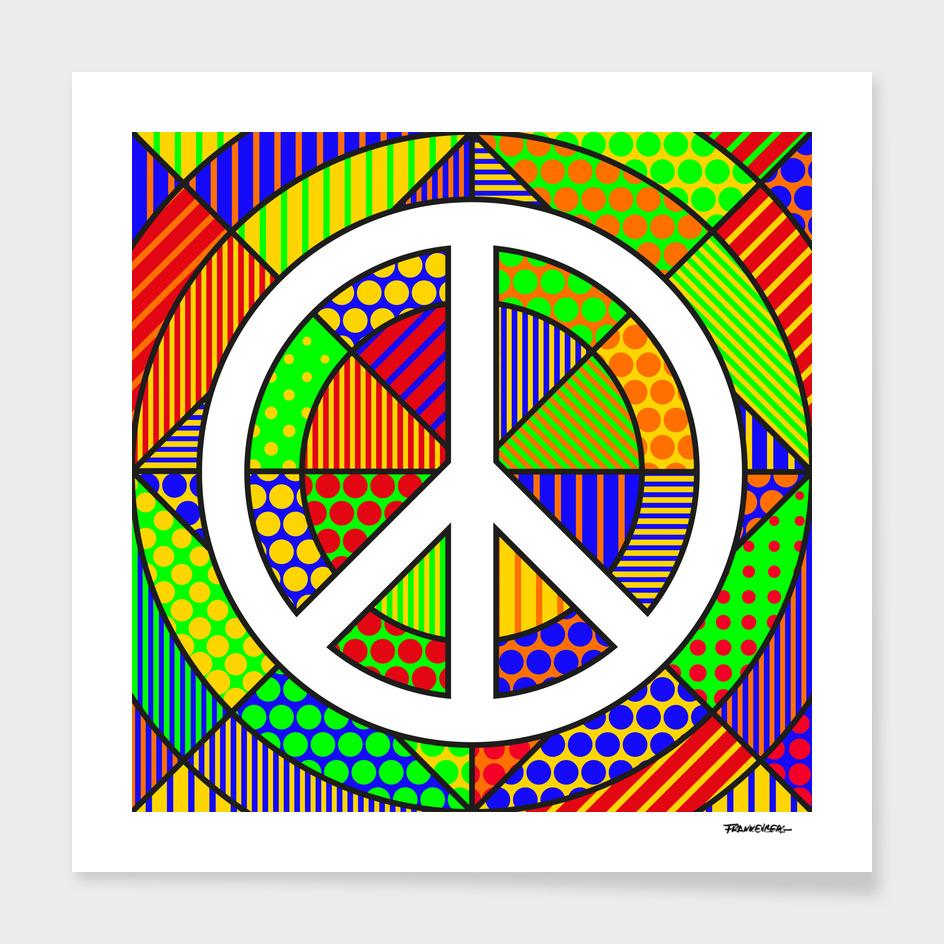 Peace #2 – PoP Art