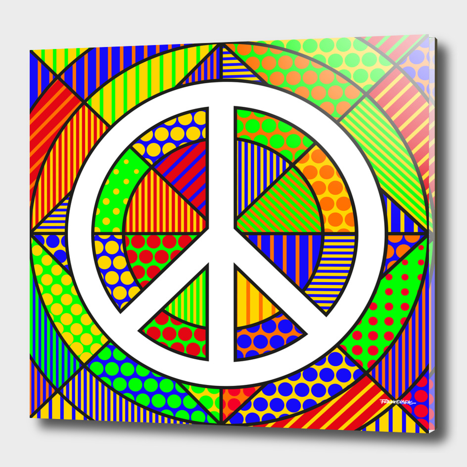 Peace #2 – PoP Art