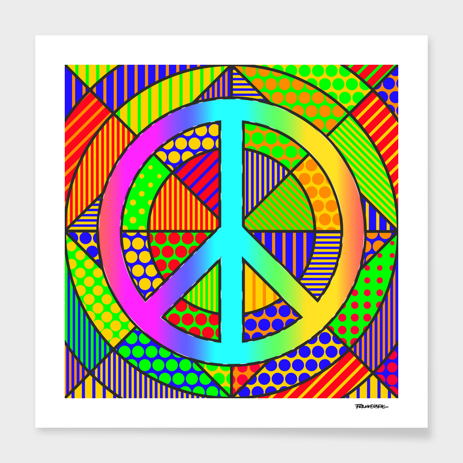 Peace #3 – PoP Art