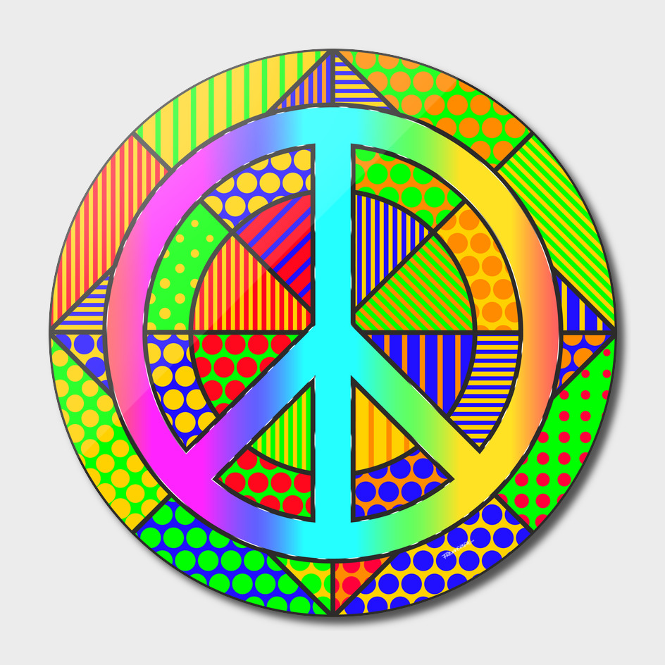 Peace #3 – PoP Art
