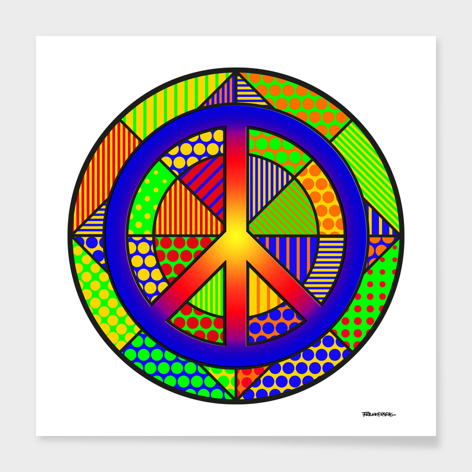 Peace #4 – PoP Art