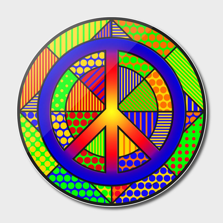 Peace #4 – PoP Art