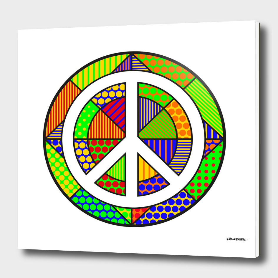 Peace #5 – PoP Art