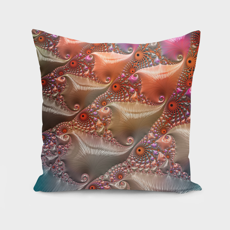 Abstract Sea Creatures Fractal