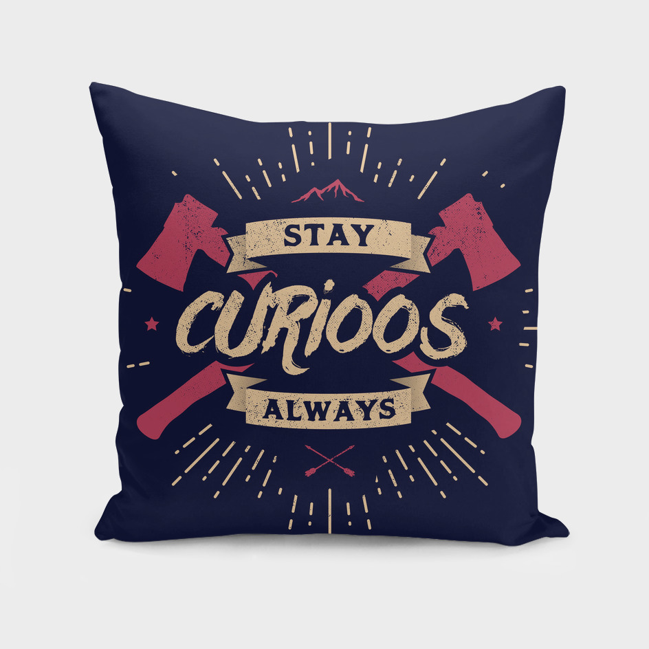 STAY CURIOOS special edition