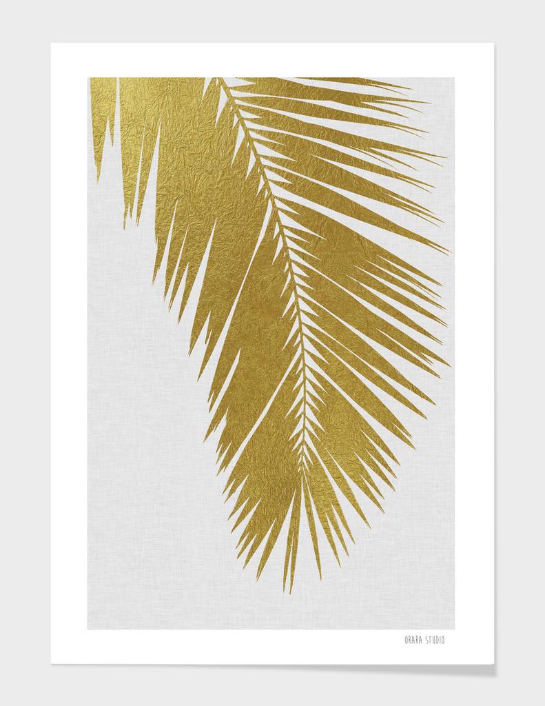 Palm Leaf Gold I
