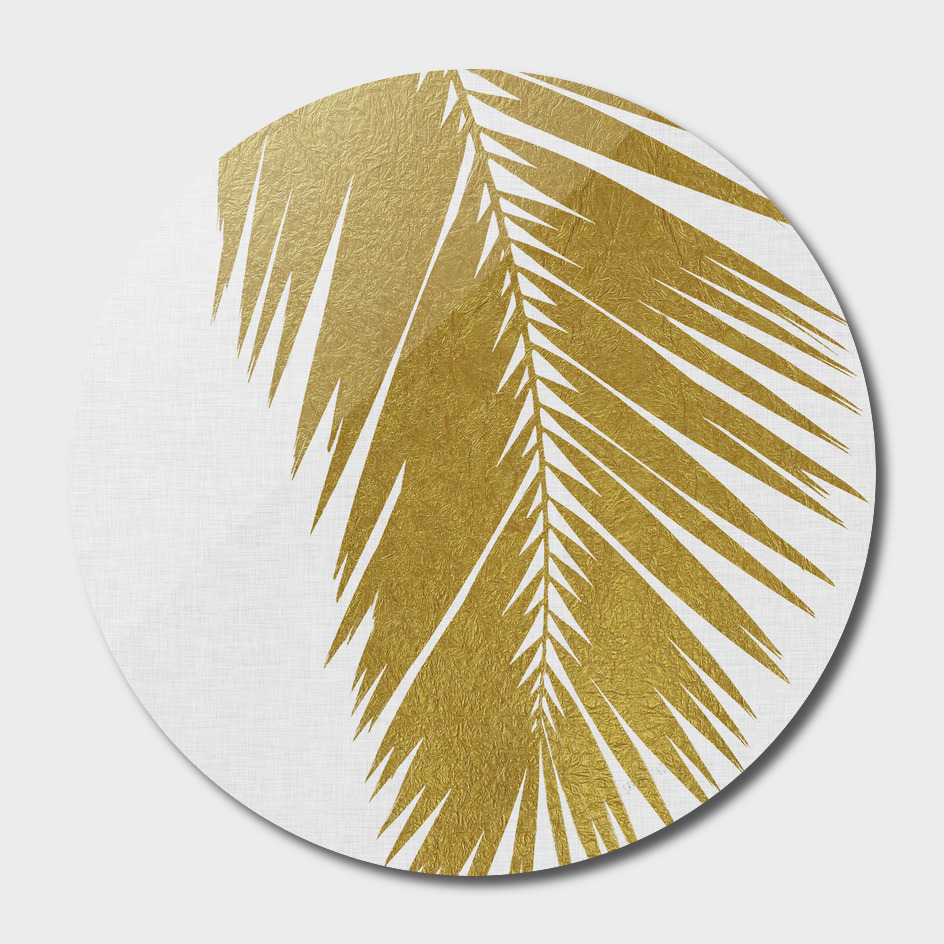 Palm Leaf Gold I