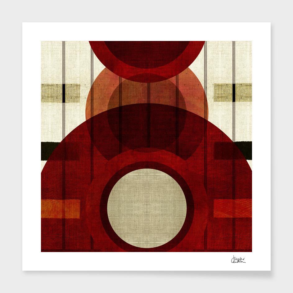 """""""Retro Abstract Big Circle"""""""