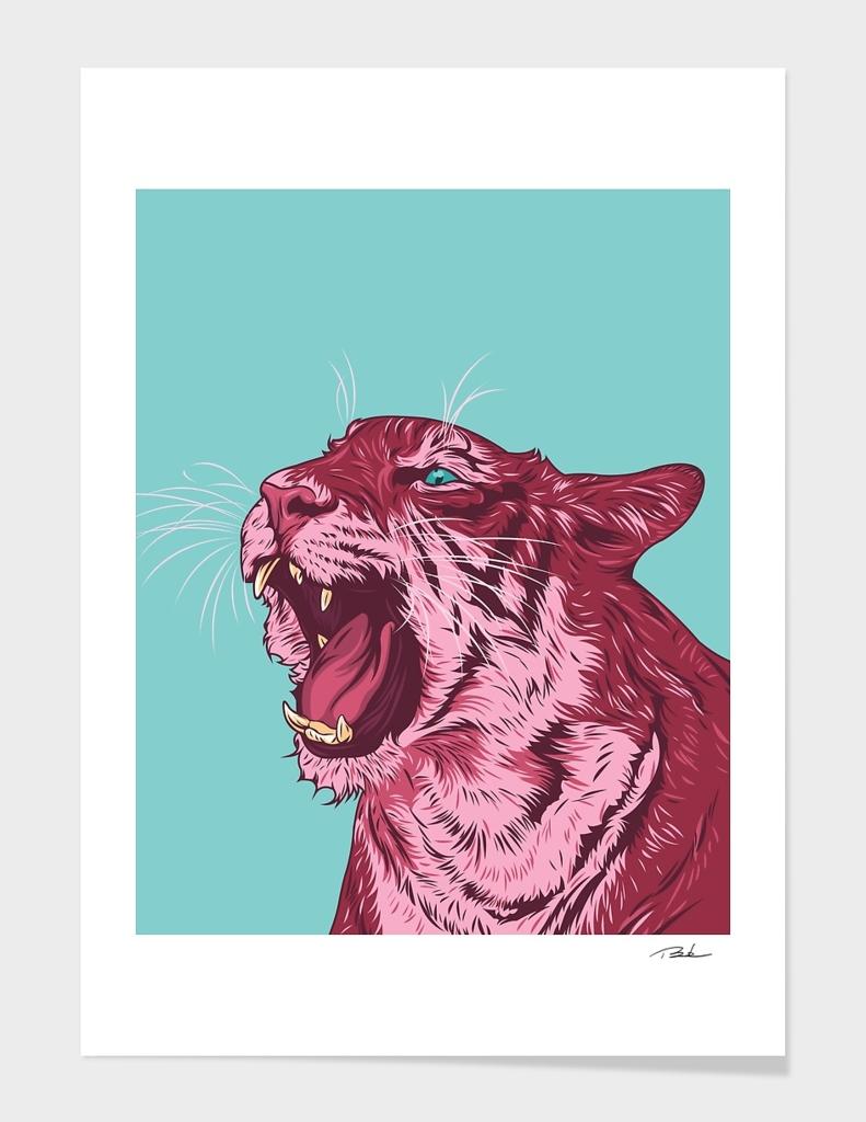 Magenta tiger