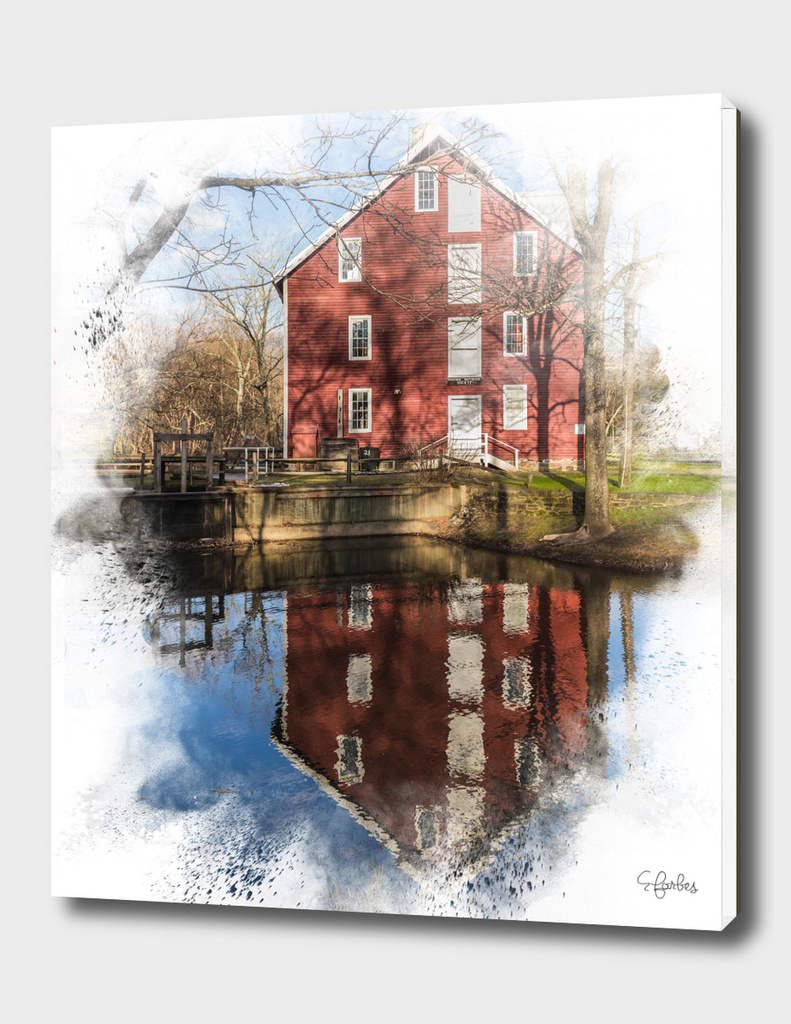 Farmhouse Reflection