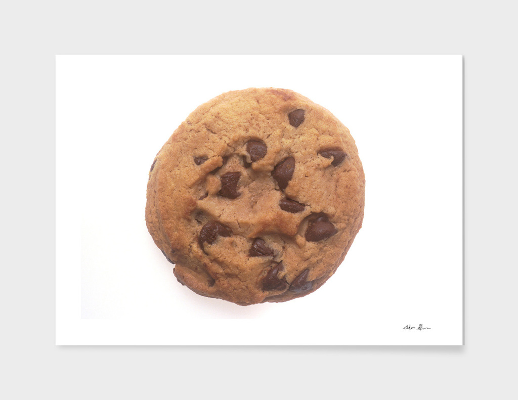 Chocolate Chip Cookie Photograph