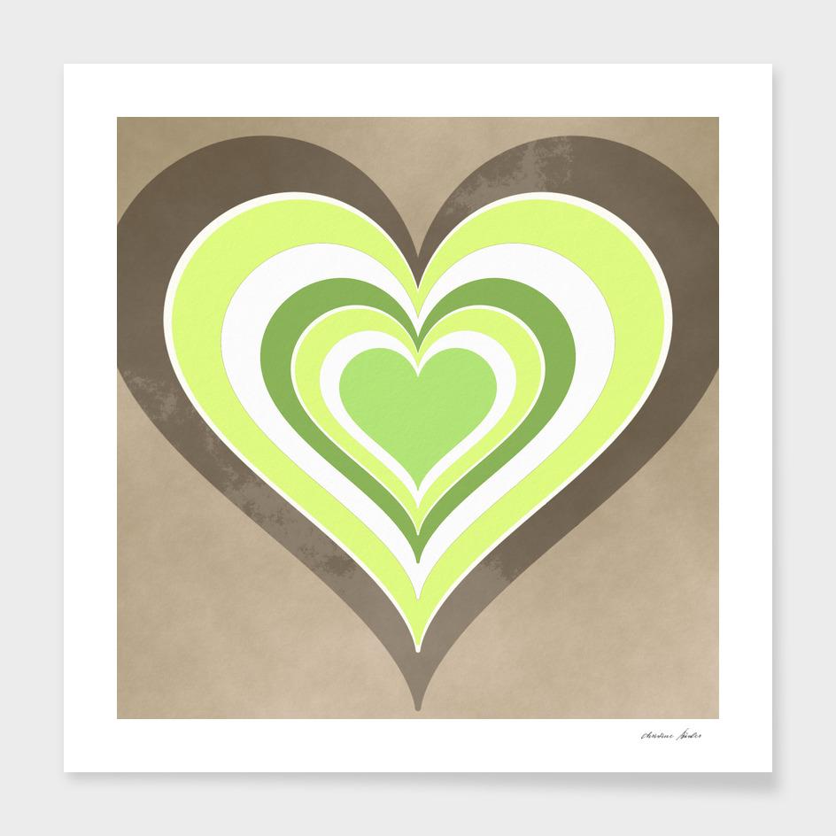 Heart lightgreen