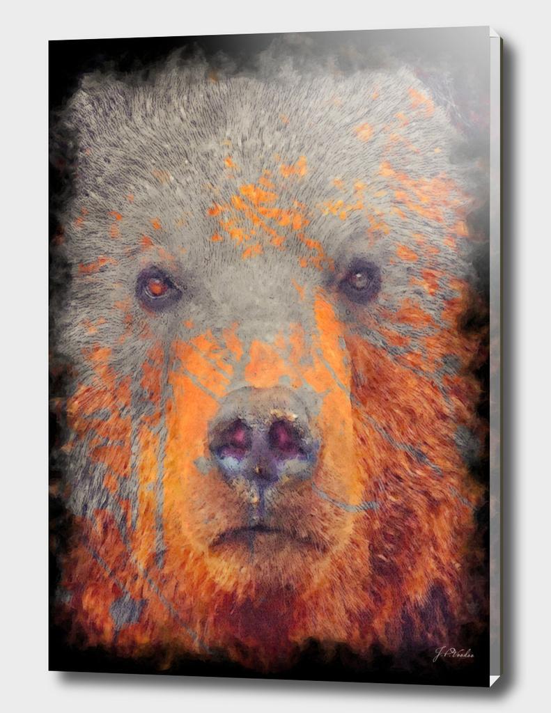 Bear painting