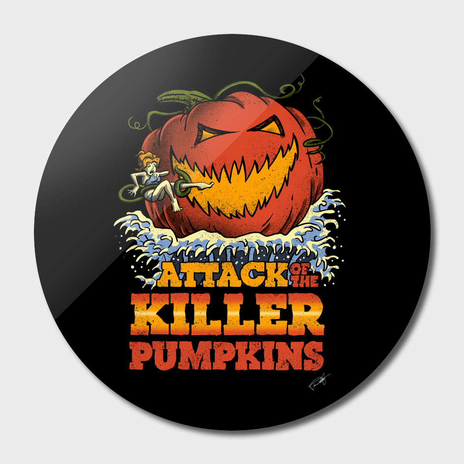 Attack of the Killer Pumpkin