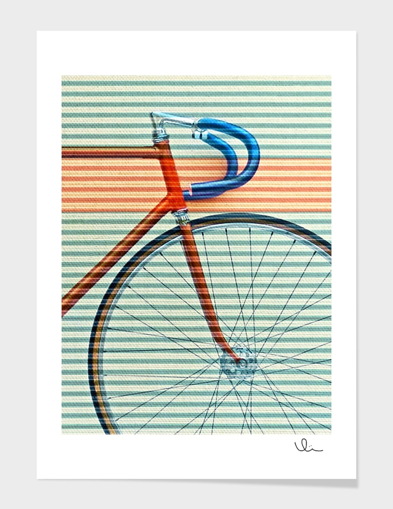 Standard Striped Bike