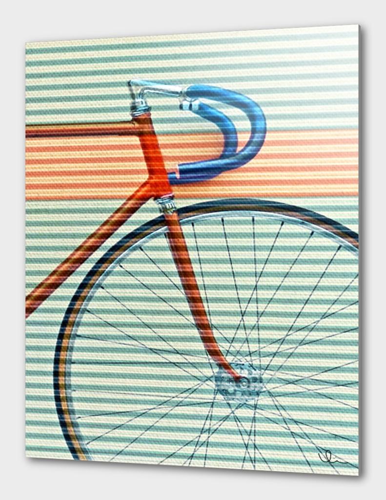 Standard Striped Bike