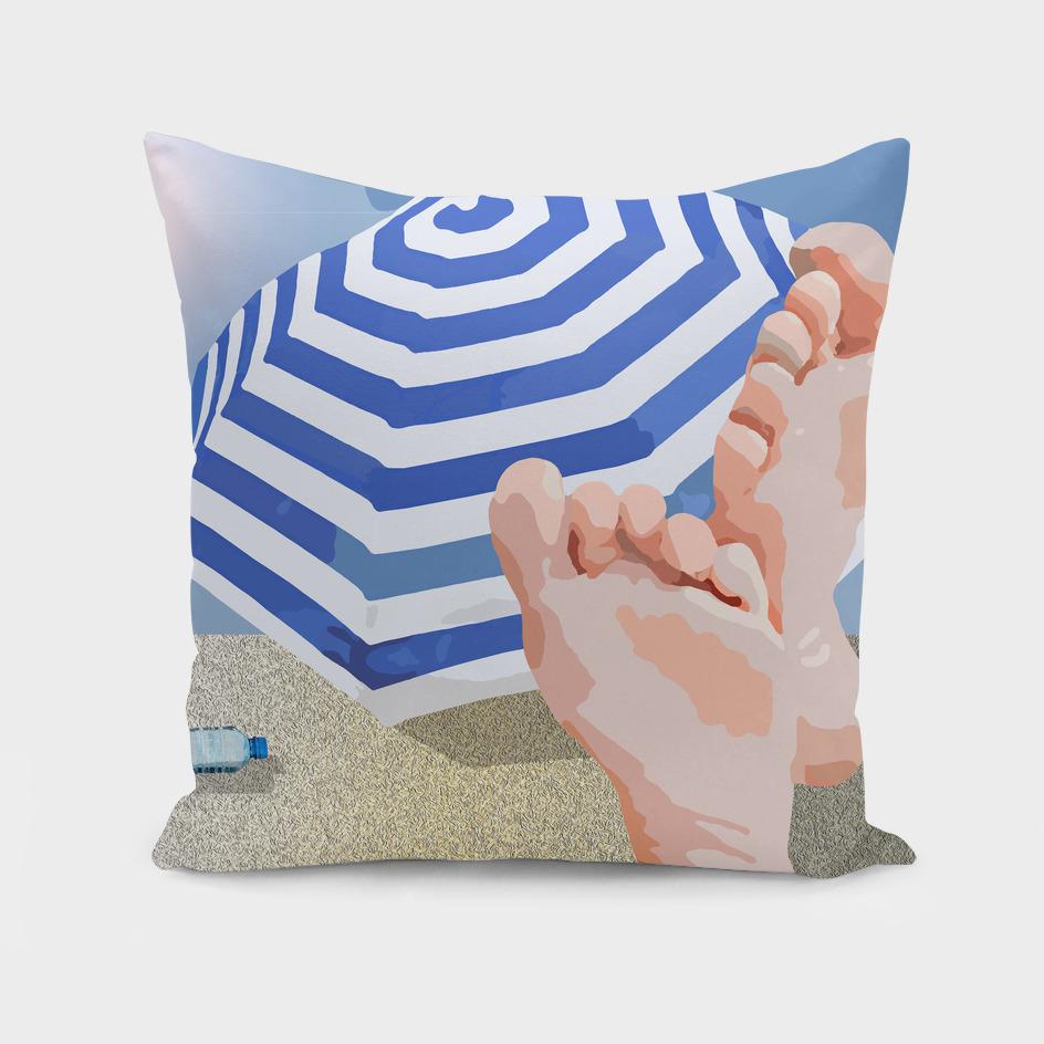 Descanso na praia