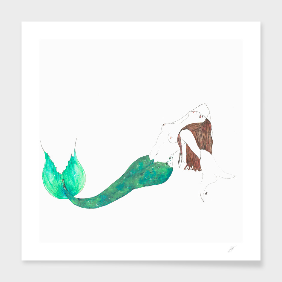 Sexy mermaid