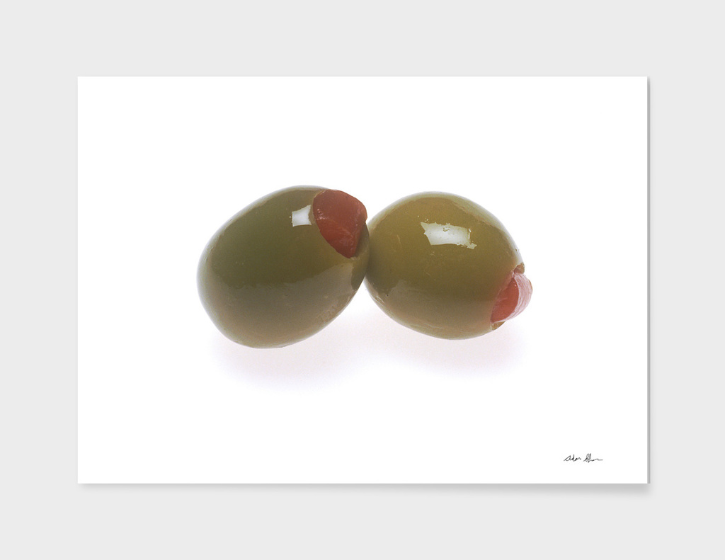 Green Olives Photograph
