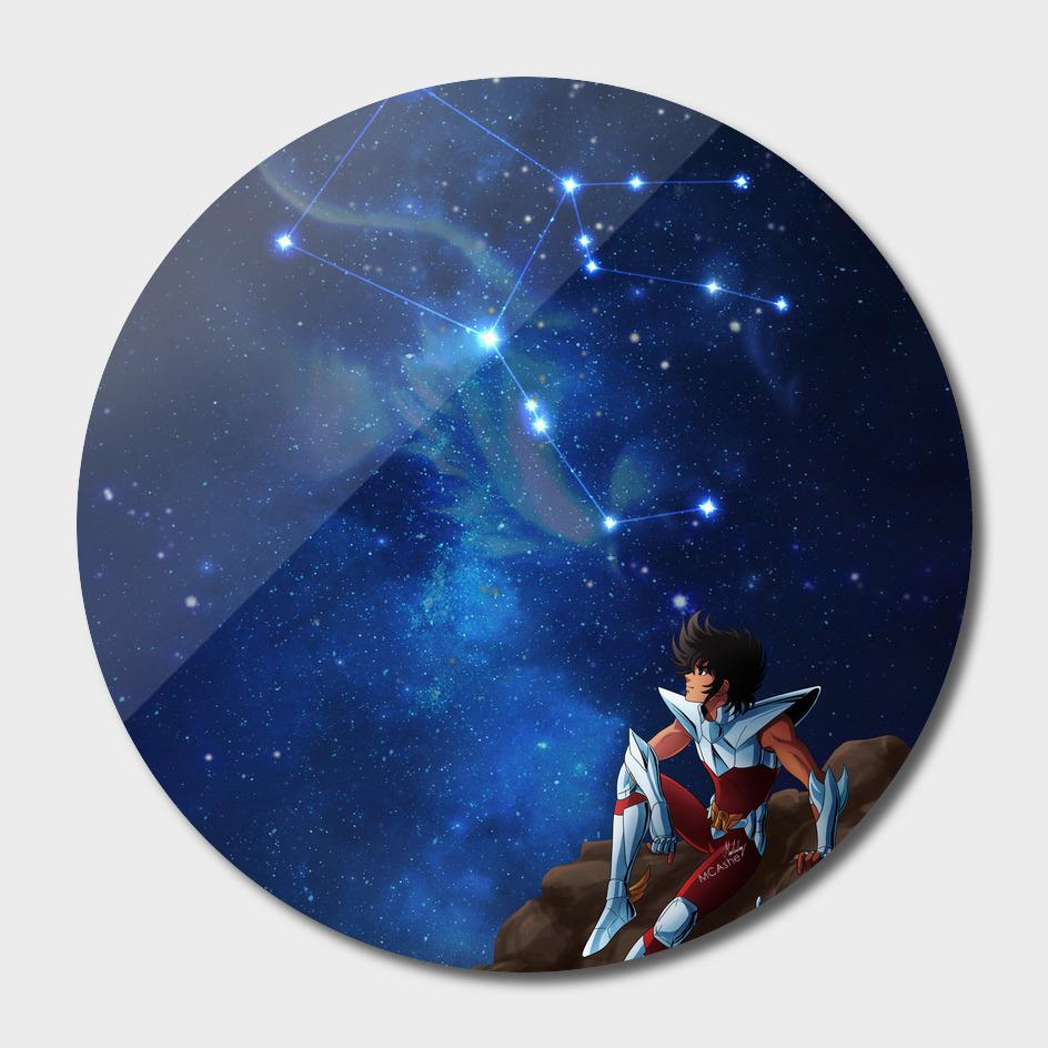 Pegasus - Saint Seiya Artwork