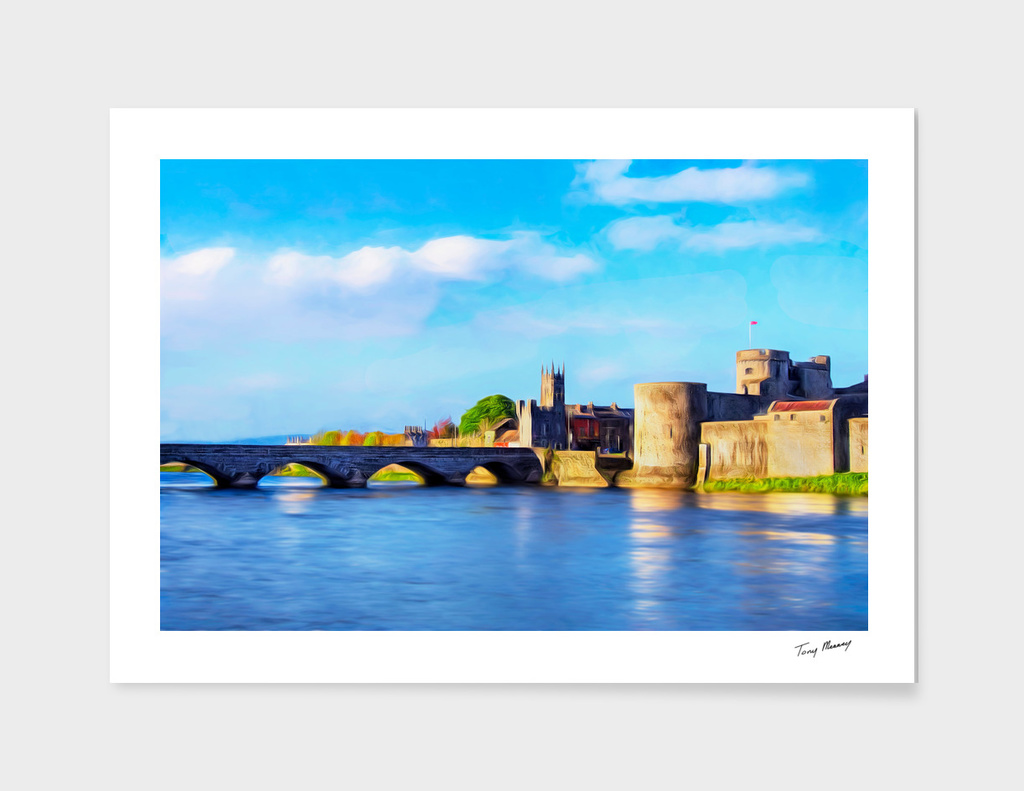 King Johns Castle and Thomond Bridge