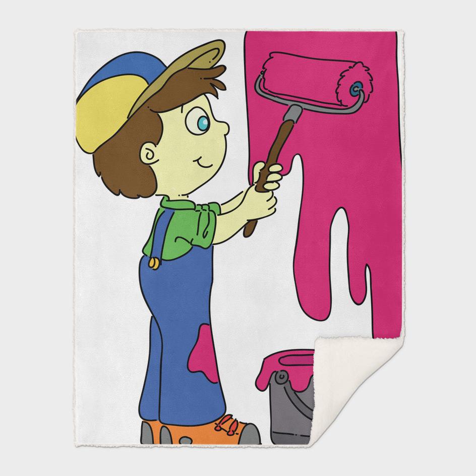 Child painter