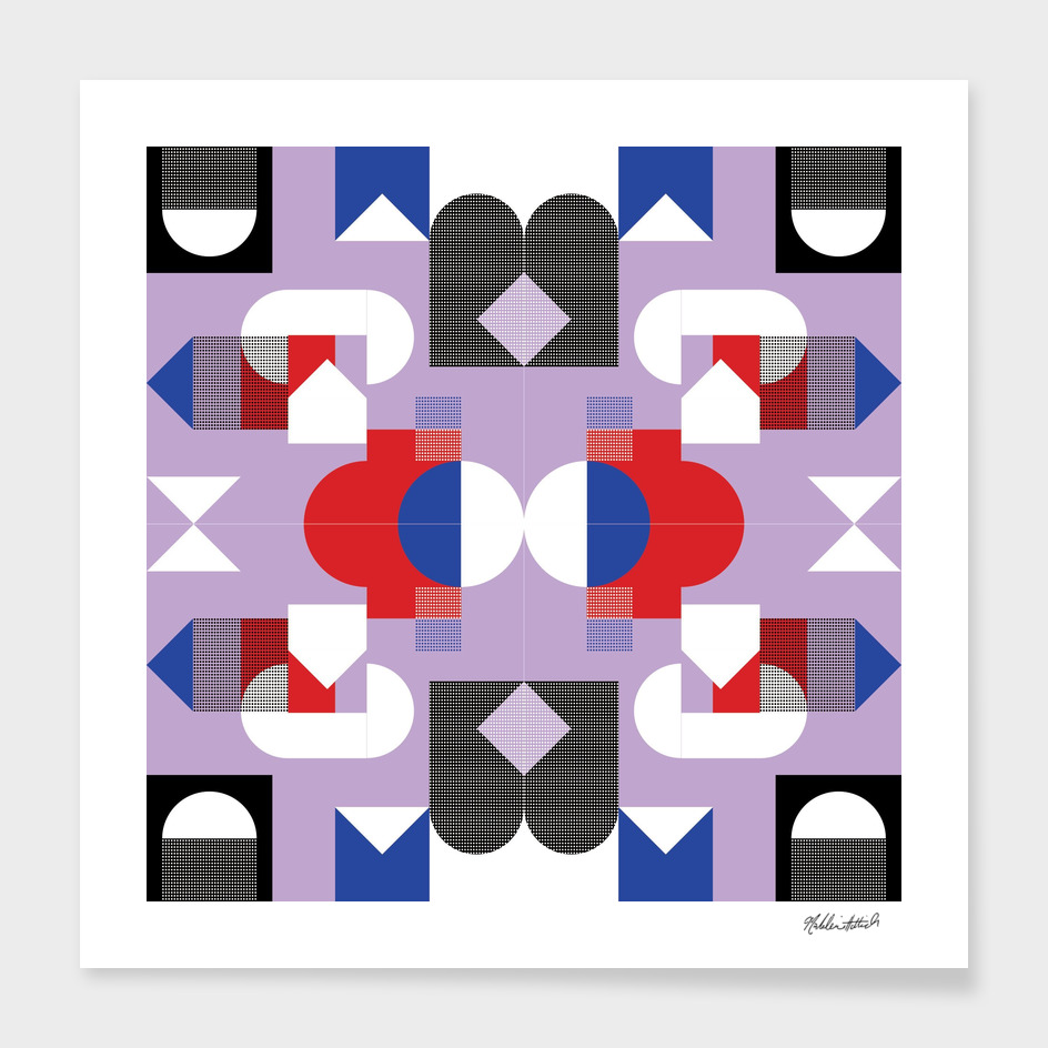 Graphic Kaleidoscope Design 15