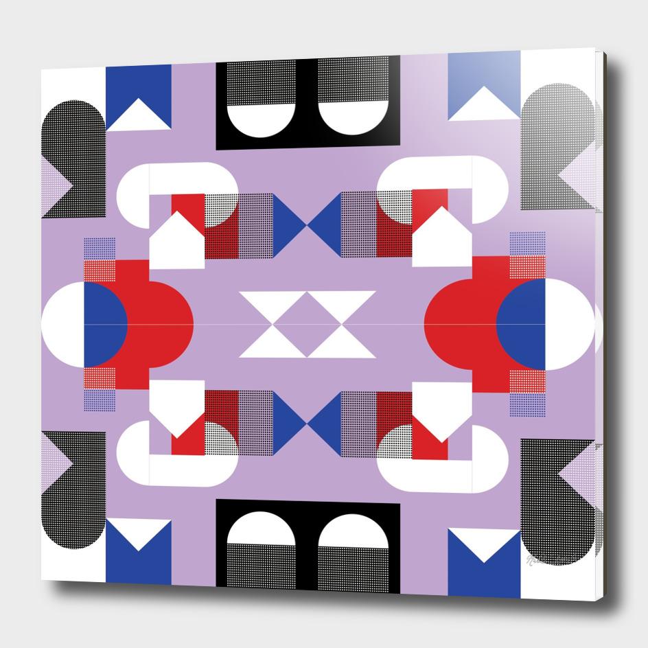 Graphic Kaleidoscope Design 16