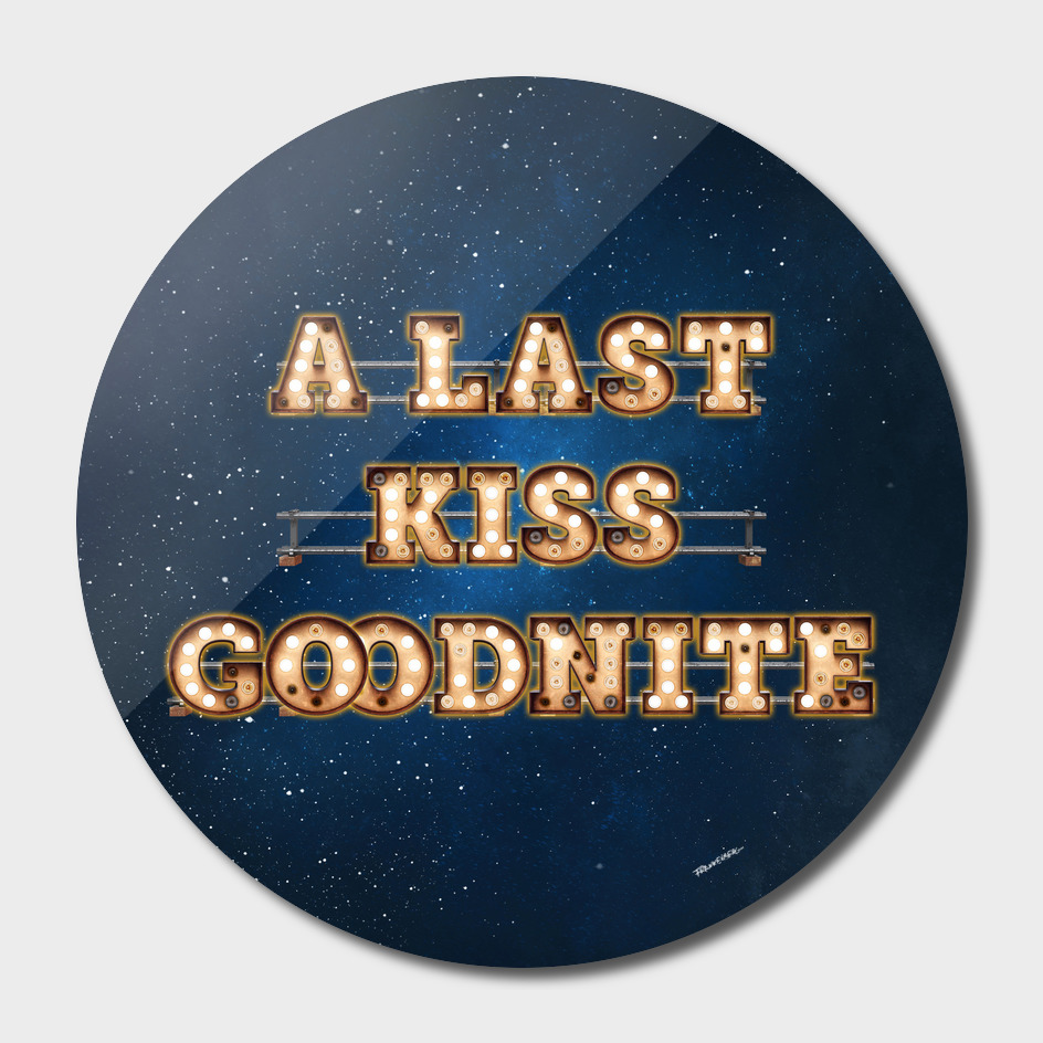 A Last Kiss Goodnite -  Wall-Art for Hotel-Rooms