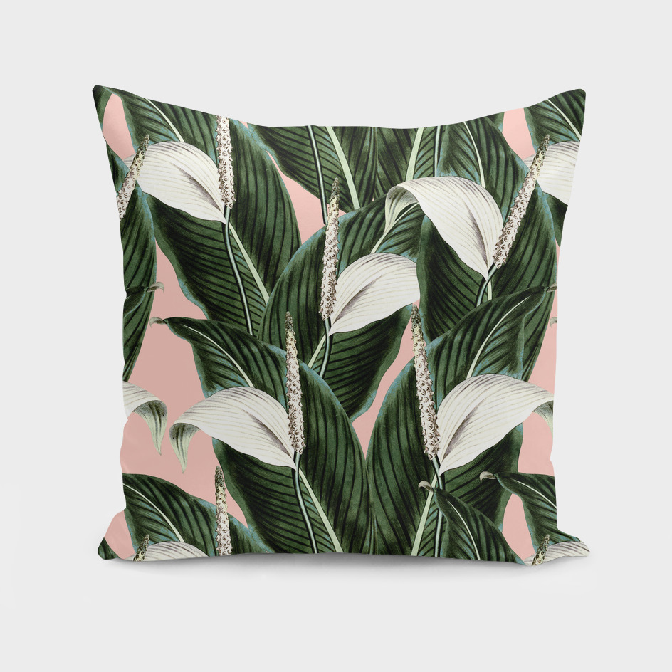 Pattern botanical flowers pastel
