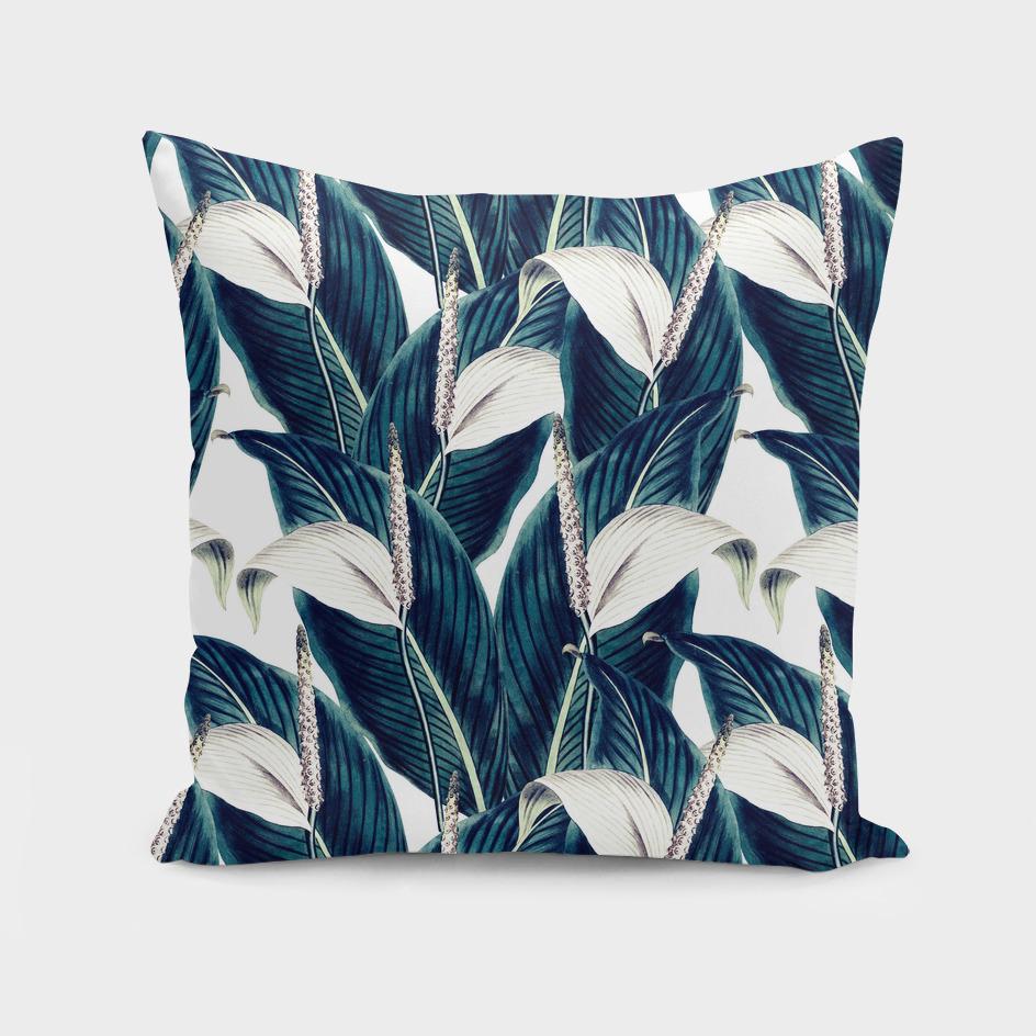 Bluish floral botanical