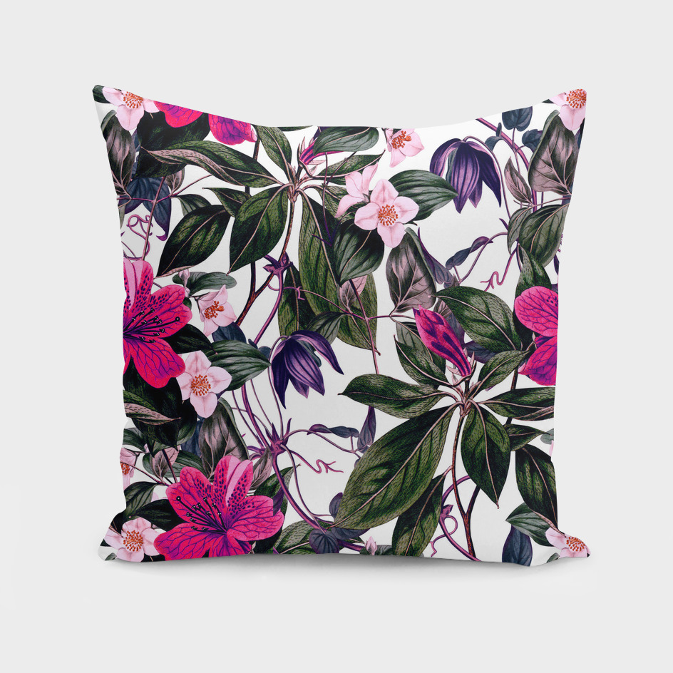 Pattern antique botanical flowers I