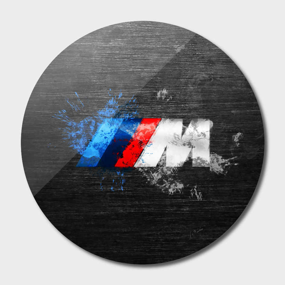 BMW M Power Splatter painting
