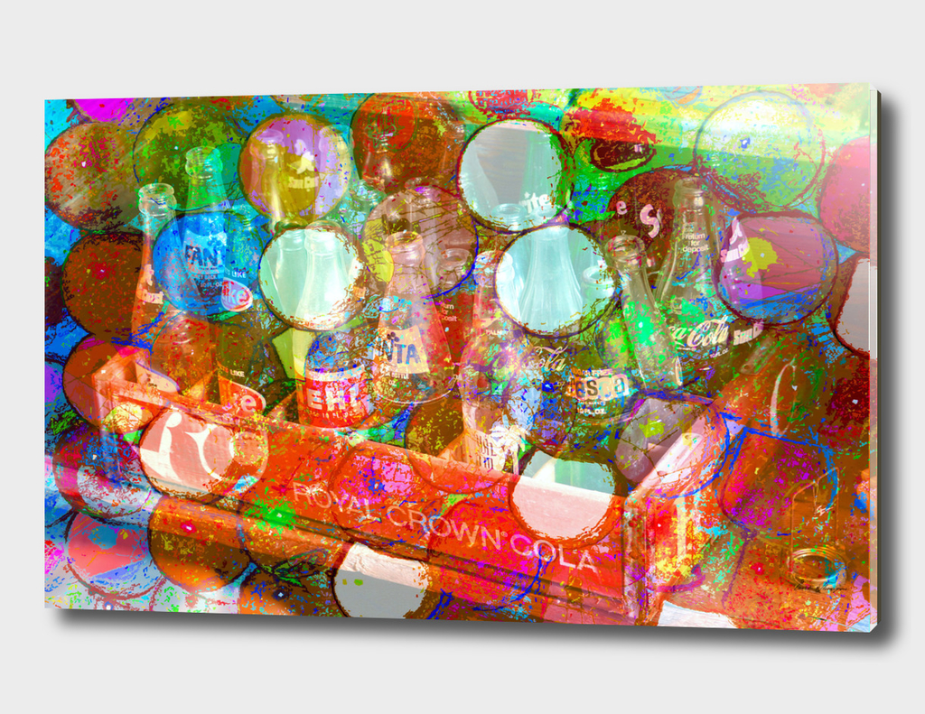 Soda pop and bubble gum