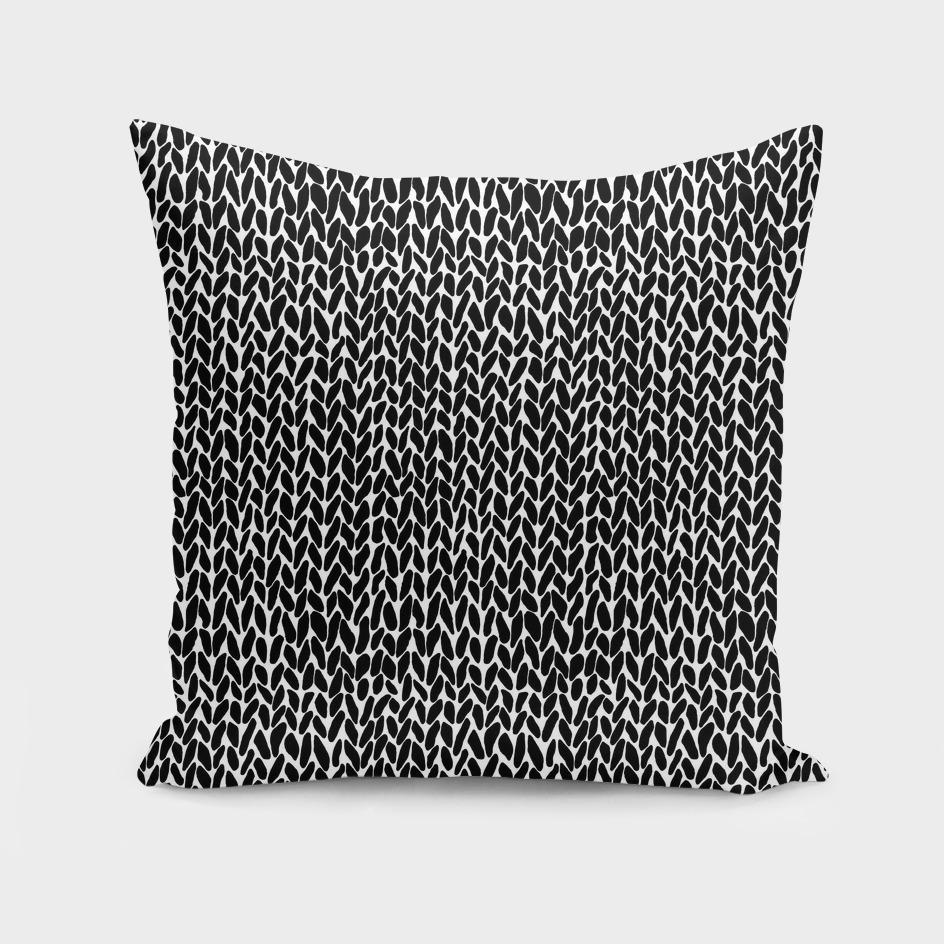 Hand Knit Black
