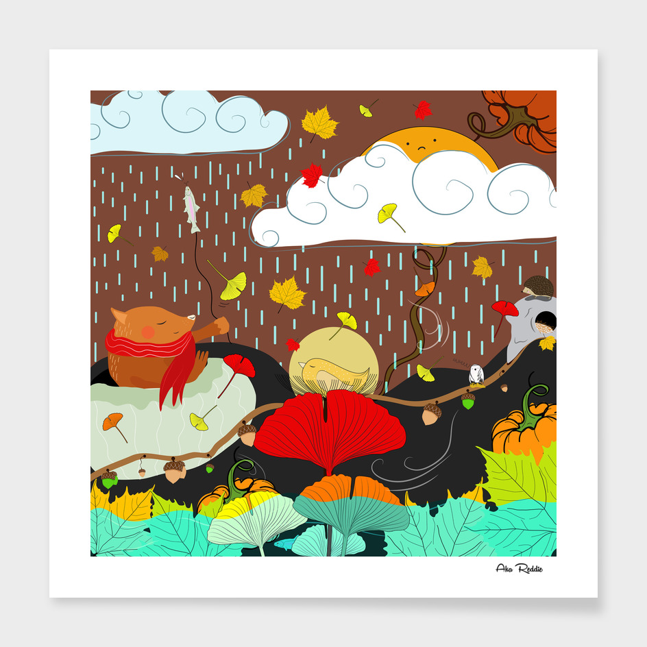 Autumn's dancing