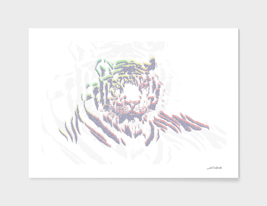 ASCII Art II - Tiger