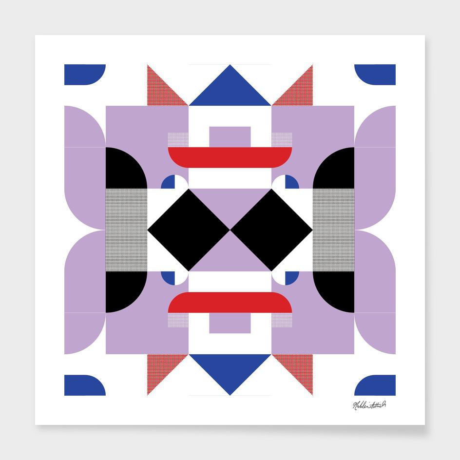 Graphic Kaleidoscope Design 20