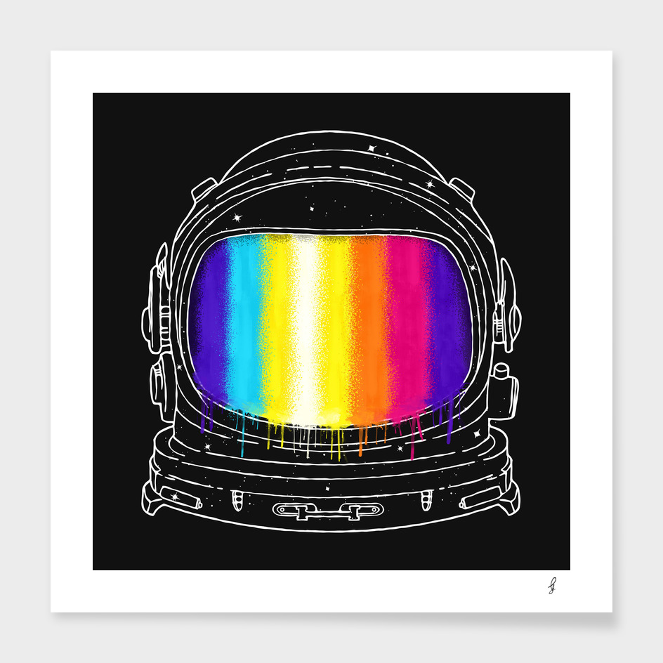 Astronaut With The Great Color