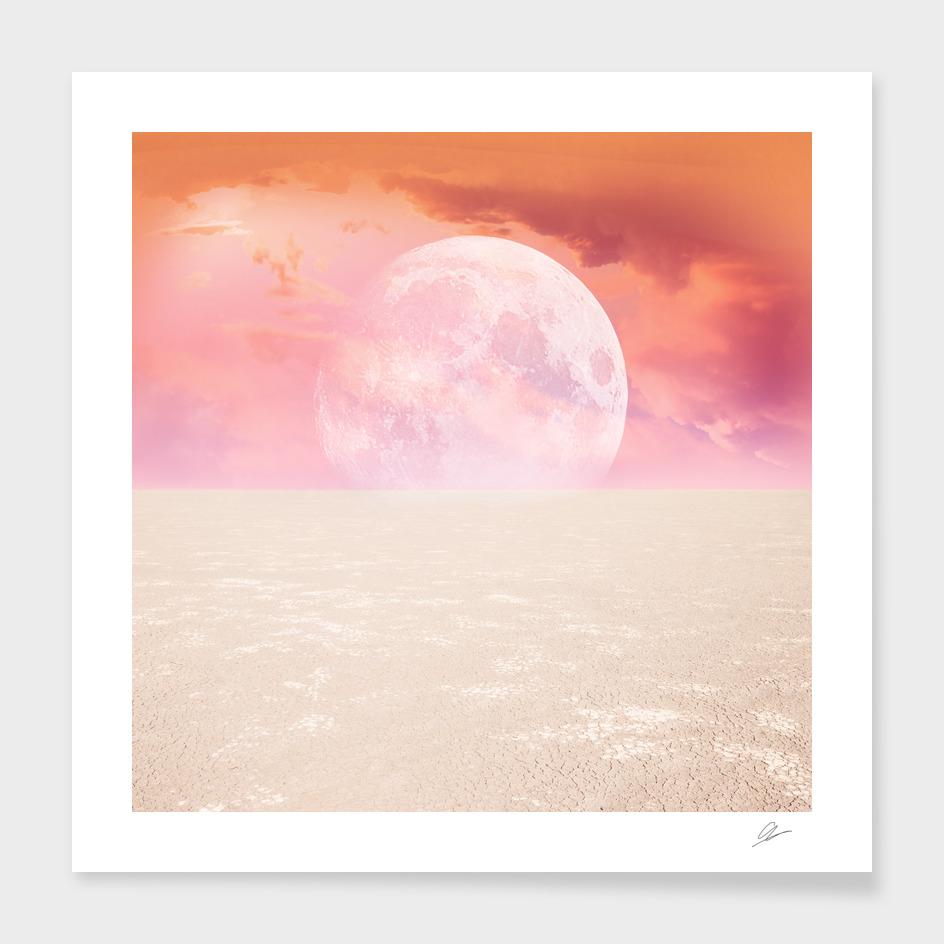 Desert Moon in Full Pink
