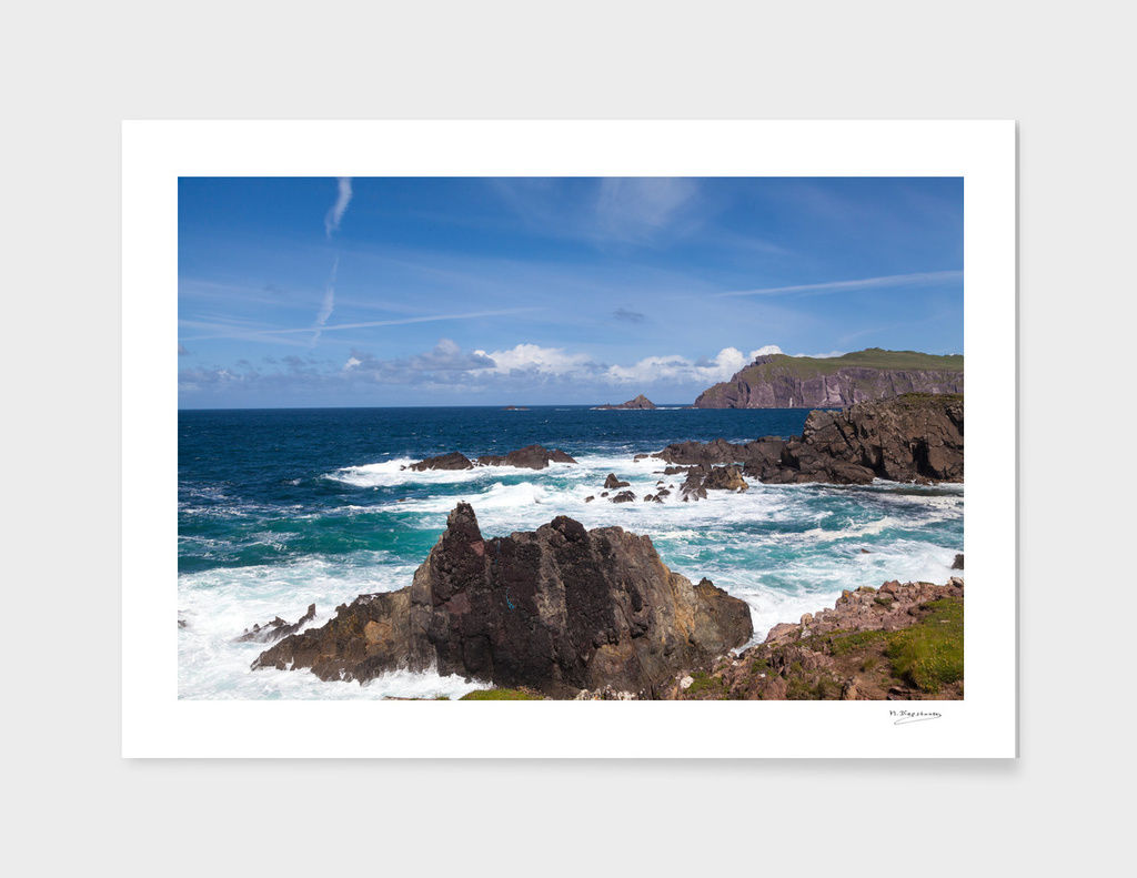 Clogher Strand in Ireland