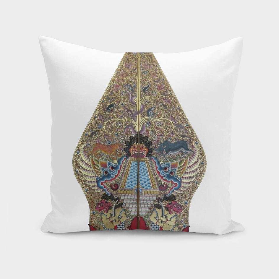 Gunungan Kayon Traditional Art Wayang Decoration