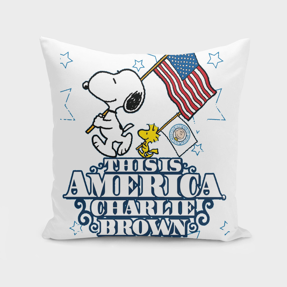 This is America Charlie Brown Box Art