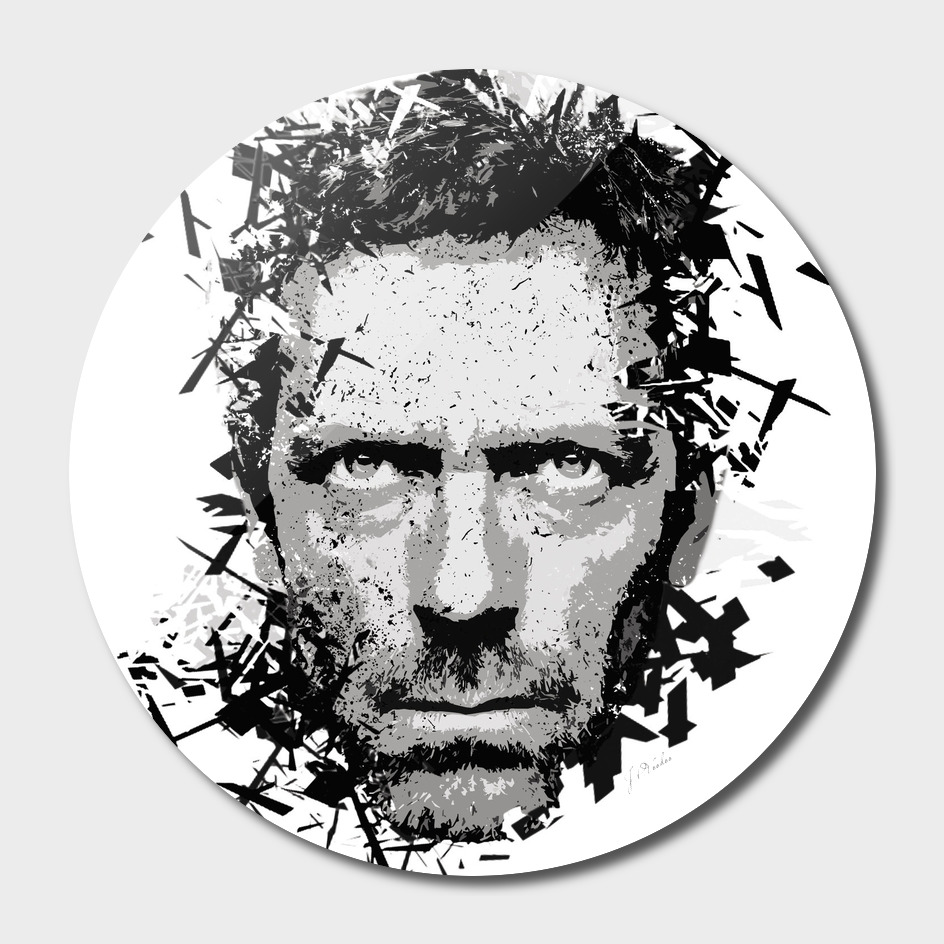 House M.D. Hugh Laurie