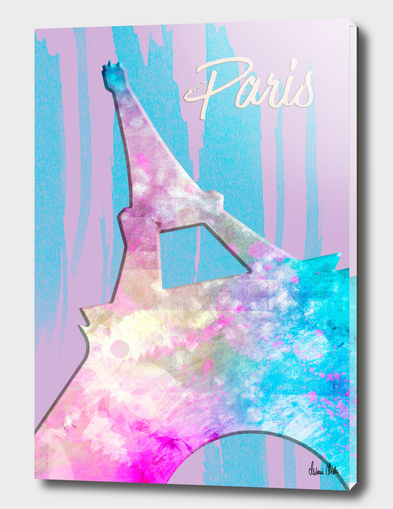 Graphic Style PARIS Eiffel Tower | pink