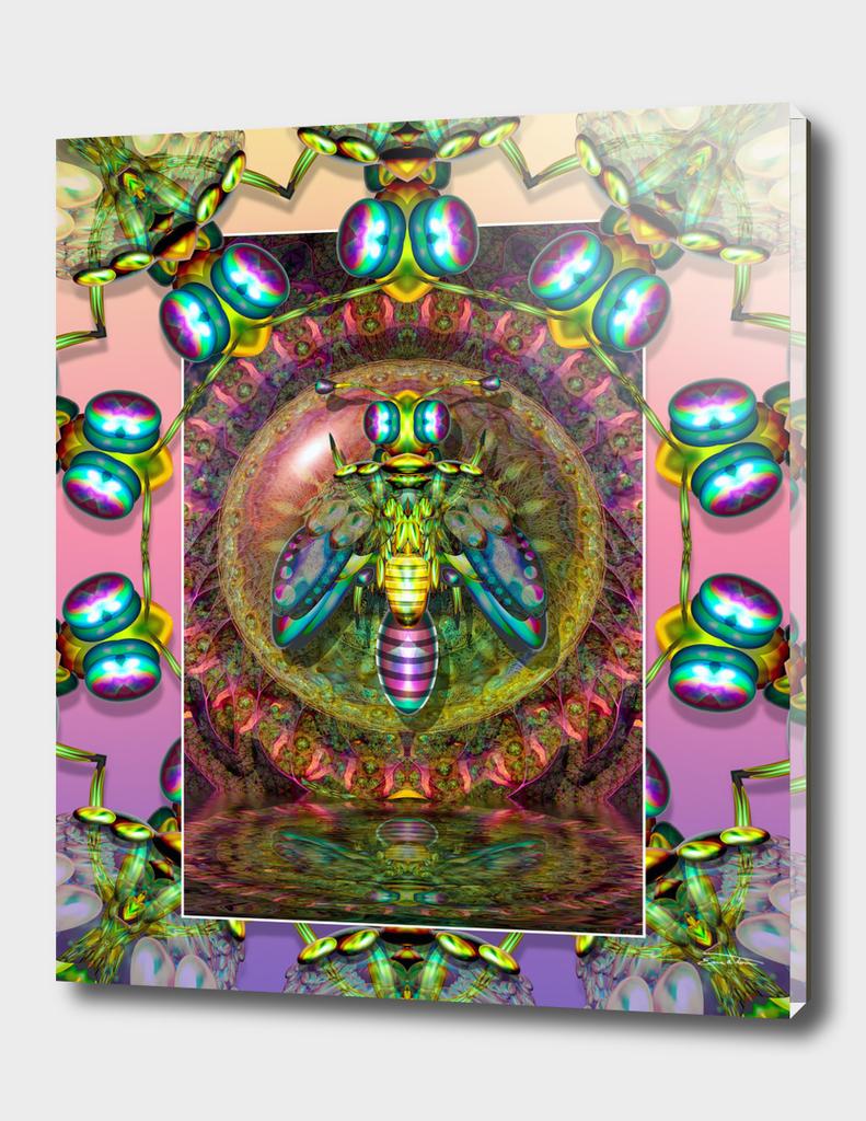 Psychedelic Wasp